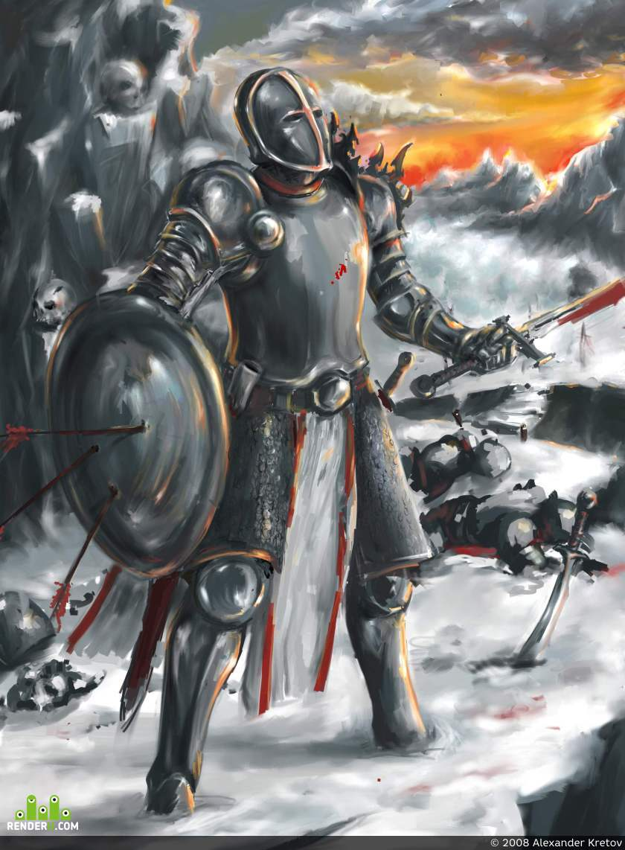 preview Воин и закат...