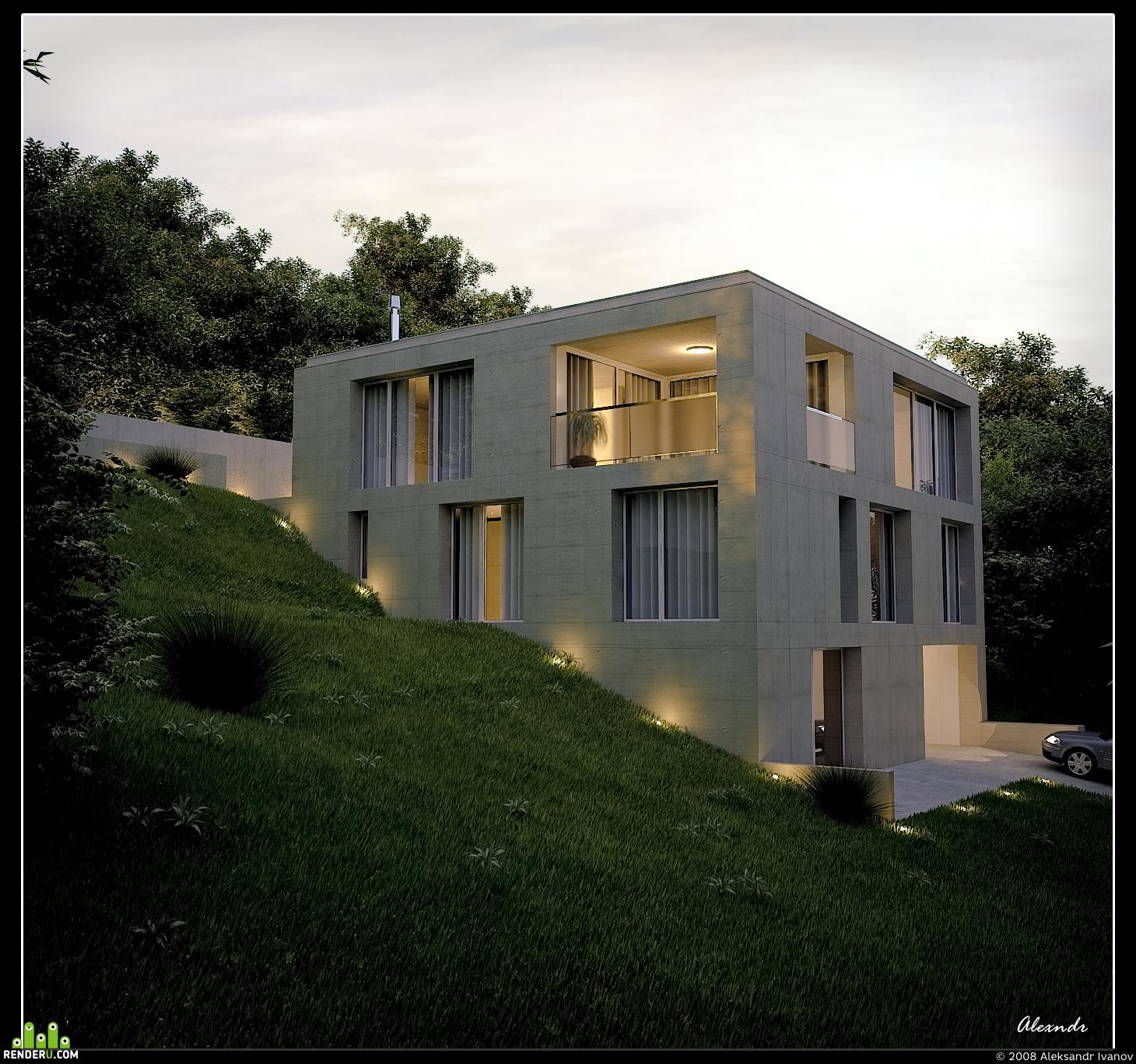 preview House Kern by swiss Stoosarchitekten