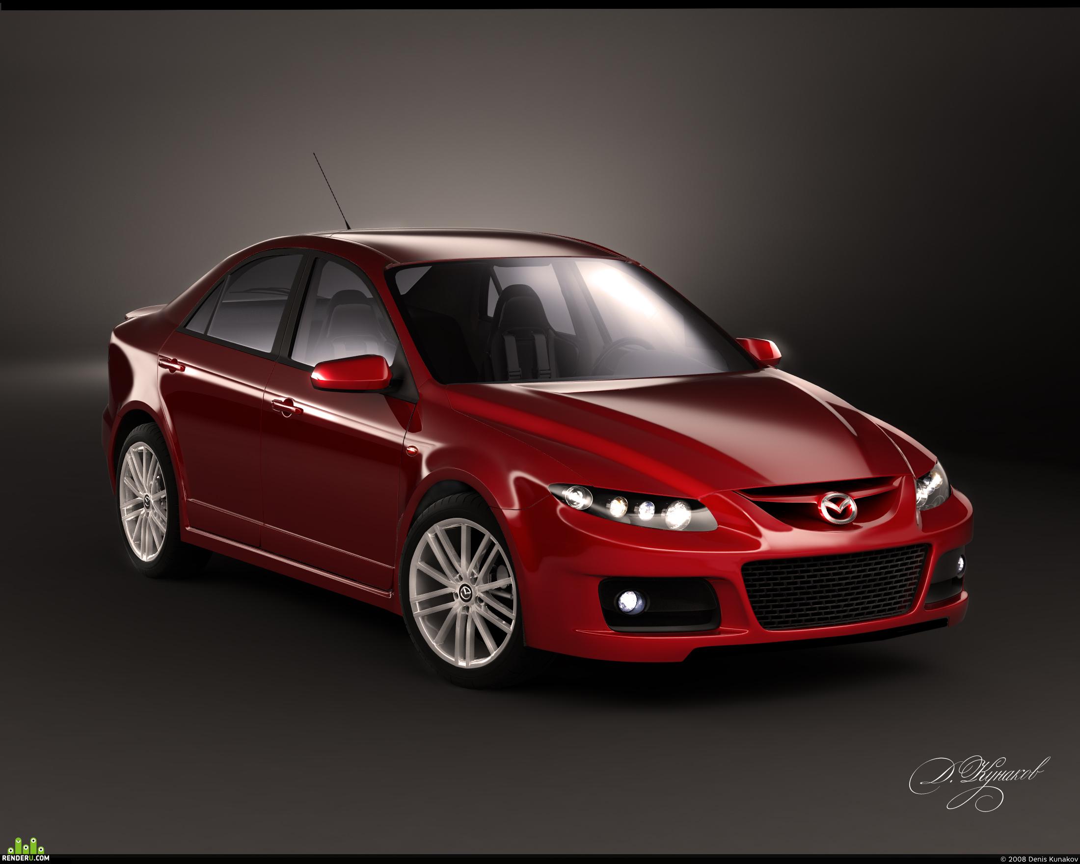 preview Mazda 6 MPS