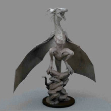 Gnomon's Sculpting a Dragon with ZBrush