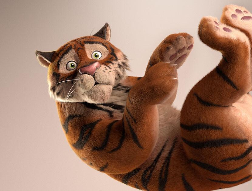 Tiger of Little Gladiator