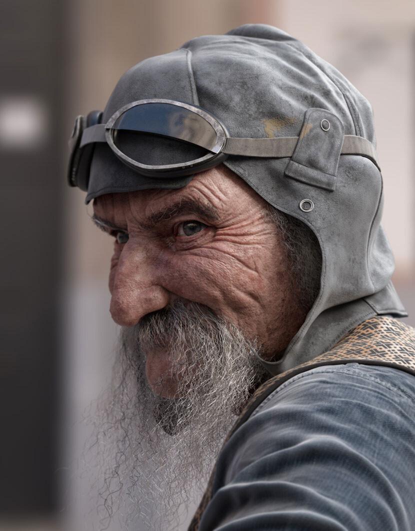 Alexandre Mougenot's realistic Pilot image