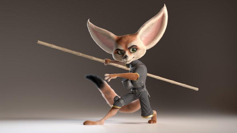 Alexandre Mougenot's Fennec Fox