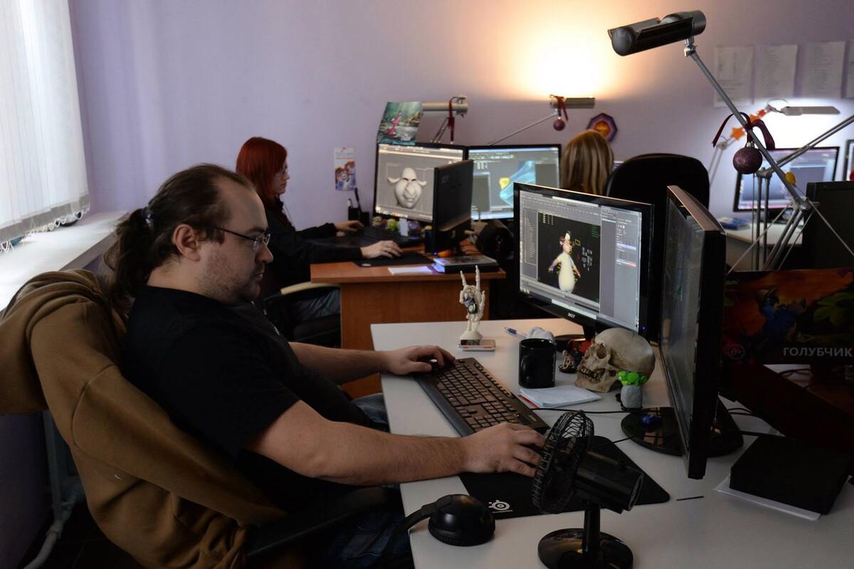 работа 3d аниматор удаленно
