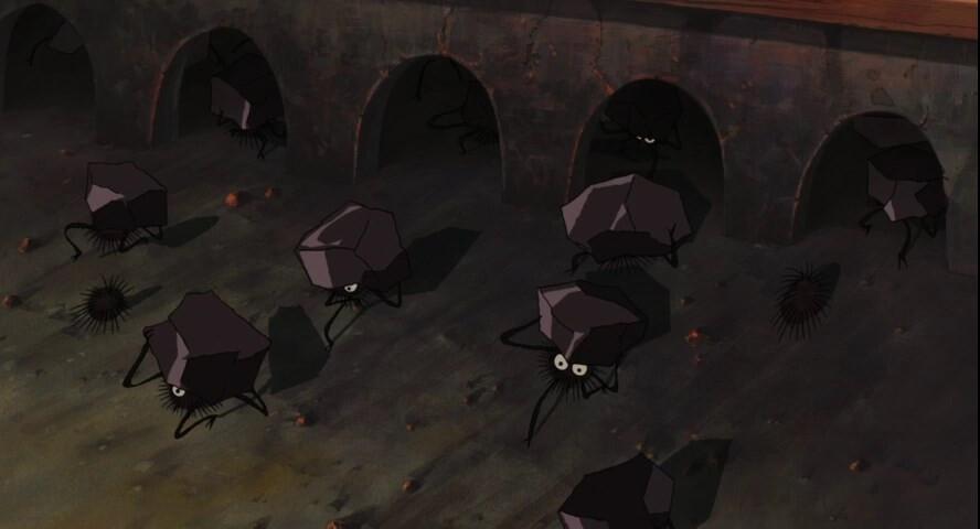 Унесённые призраками. Тихиро входит в комнату деда Казами.jpg