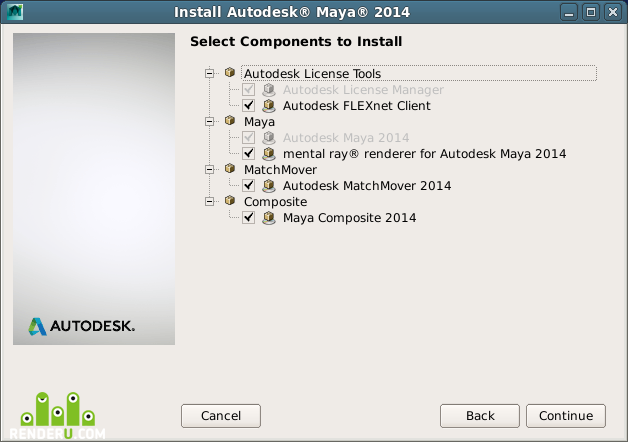 Установка Autodesk Maya в CentOS 6 4 Linux