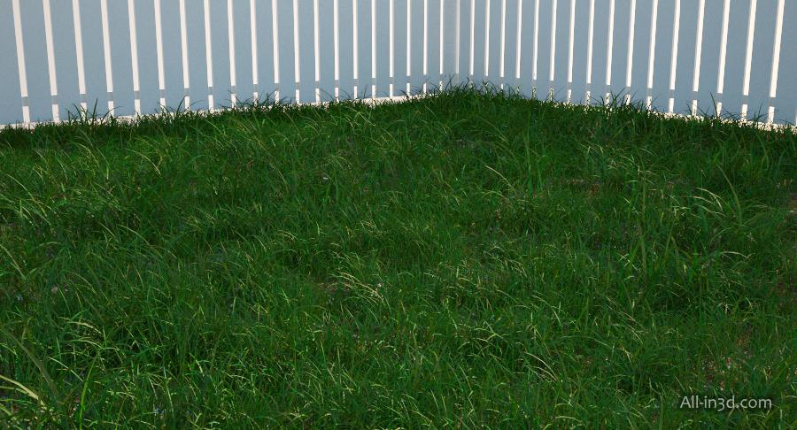 3d max как сделать траву 833