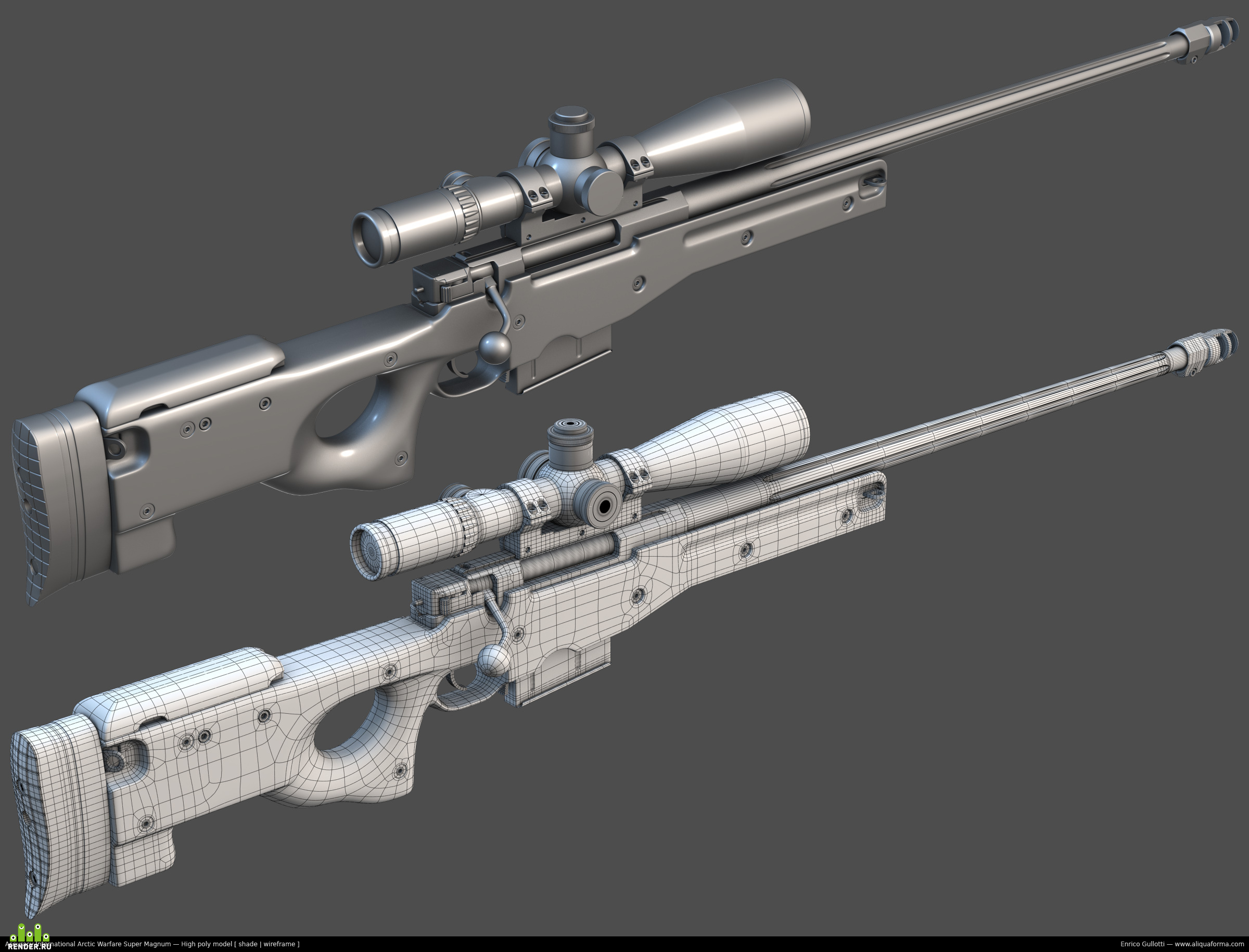 magnum sniper rifle - HD2400×1830