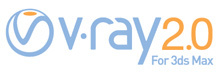 V-Ray 2.0 logo header