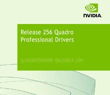 Quadro Driver ver 256 header