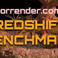 Redshift Benchmark test on the Forrender com