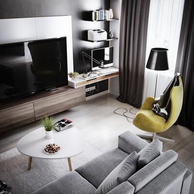 coronarenderer #3dsmax #photoshop  #home