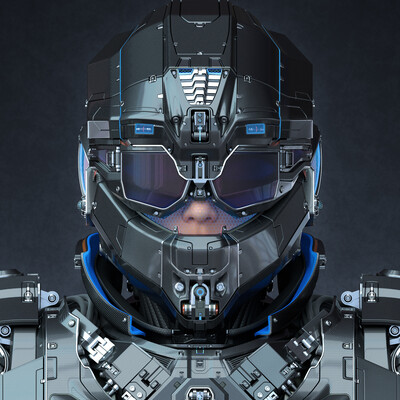 #sci-fi armor, sci-fi helmet