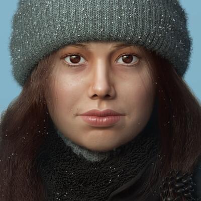 персонаж, Портрет, портрет в полный рост, 3d