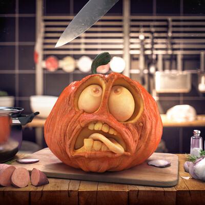 Halloween, 3dartist, cgi, 3dillustration, 3drendering, rendering, Maya, Redshift, stas3dart