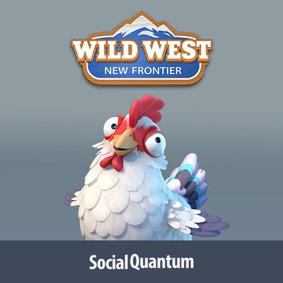 Social Quantum, game, Illustration, game art, SQ, Characters, Wild West: New Frontier