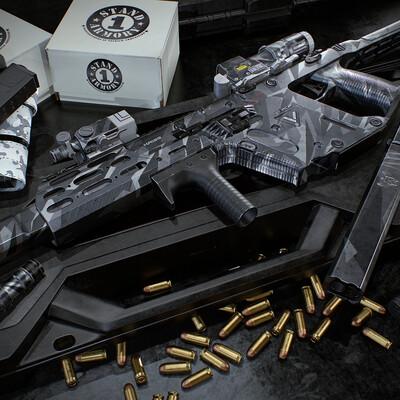 3d, gameart, gameasset, gun, Game-ready