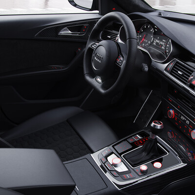 3Dsmax, Corona Renderer, Audi, automotive, cars, interior, visualization, rendering