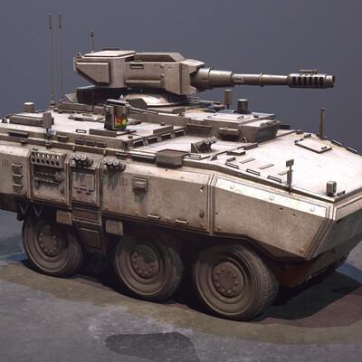 Tanks, APC, Blender, Modo