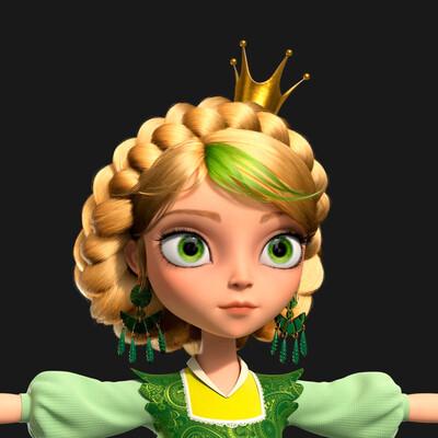 Картун (Cartoon), 3d character, Character, 3ds Max, Maya