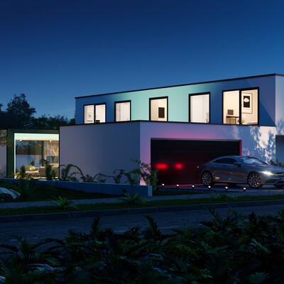 дом, современный стиль