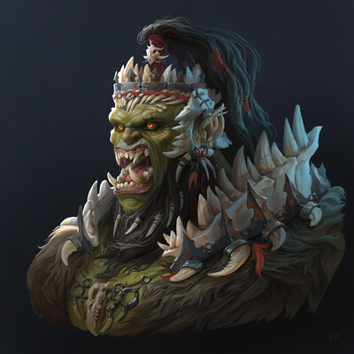orc, warrior
