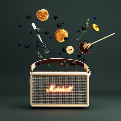 marshall, speaker, productdesign