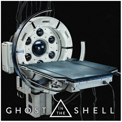 Ghost in the Shell, Blender3D 2,79, substance