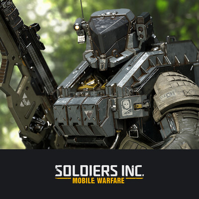 digital 3d, character, design_character, soldiers, future soldiers, sci-fi, Plarium