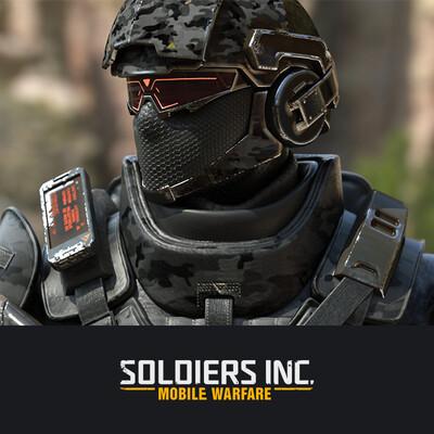 digital 3d, DIgital painting, character, design_character, 3D caracter, soldiers, future soldiers, Plarium