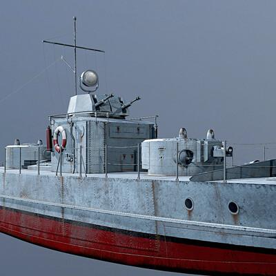 USSR., Russia., Soviet army, ww2, War, ship, Gun boat, Armored boat, Бронекатер, Великая отечественная война
