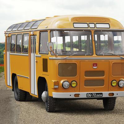 наиль, паз-672, Паз, Автобус, ссср