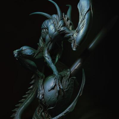 alien, 3d toys, Characters, 3dprint