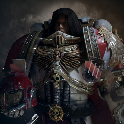 3d, 3D Studio Max, Warhammer 40000, Warhammer40k, character, sci-fi, scifi