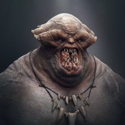 digital 3d, Characters, Concept Art, monster