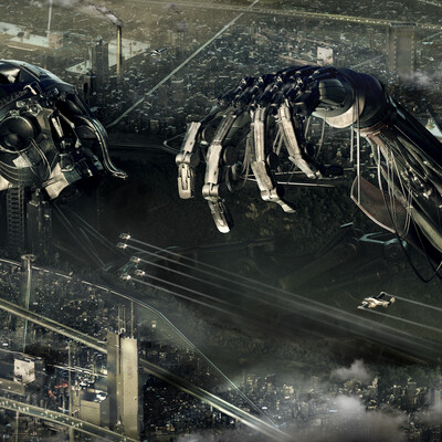 3d, visualization, art, CG, fantastic, cyberpunk, sci-fi, illustration, concept, render