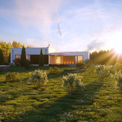 3ds Max, Corona Renderer, exterior., Exterior architecture, exteriorrendering, exterior visualization