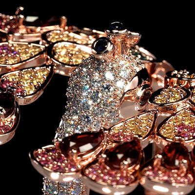 jewelry animation, turntable