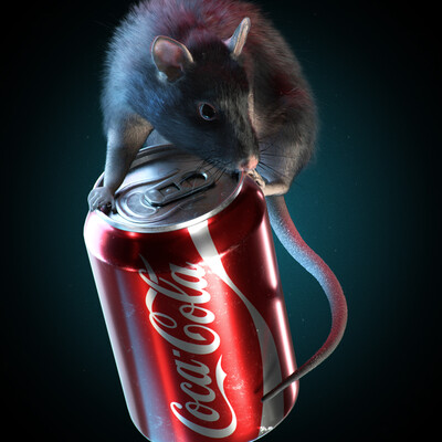 Character, animal, rat, grooming, sculpting, texturing