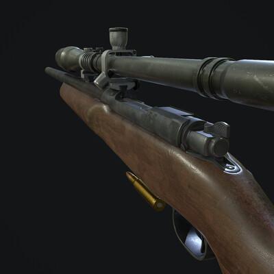 вьетнам, война, сша, оружие, винтовка, снайперская винтовка