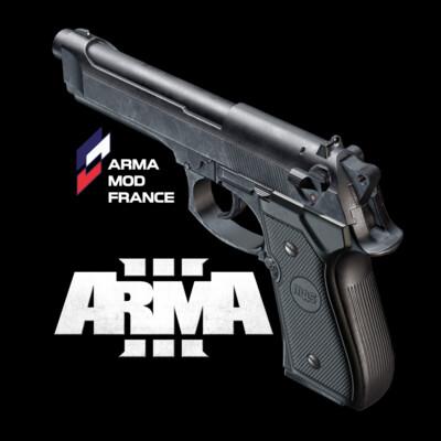 digital 3d, fps, pistol, gamedev, arma, game asset, Blender, gun, Game-ready