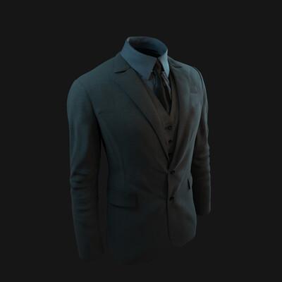 пиджак, одежда, костюм, человек