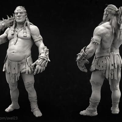 3d, 3Dprinting, concept, characterdesign, Character, keeper, hight, keeperofthemountains, персонаж, Персонажи