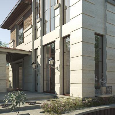 architect, architectural conception, classical architecture, classic architectute, Exterior architecture, ARCHITECTURAL VISUALIZATION REAL