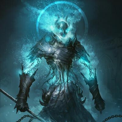 Концепт-арт, Фэнтези, Тёмное фэнтези, Персонажи, игровой персонаж