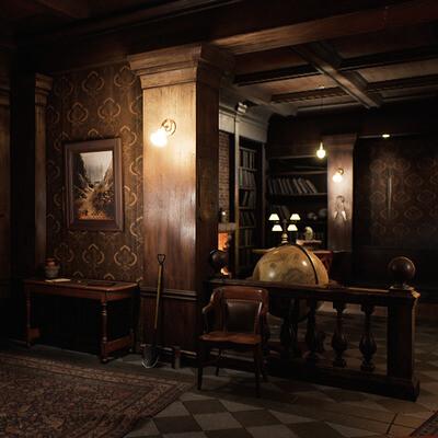интерьер, Unreal Engine, Дизайн уровней