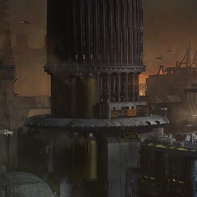 scifi, Blade Runner, concept_art, enviroment