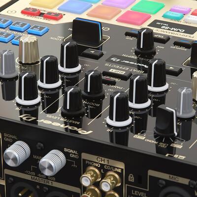 pioneer, Audio, dj, DJM-S9, mixer, djm, аудио, музыка, plx-1000