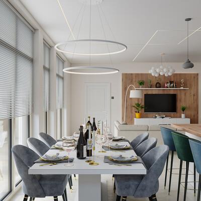 гостиная, кухня, дизайнгостиной, кухня-гостиная, дизайн, дизайн интерьера, дизайнинтерьера, дизайн кухни, Интерьерная визуализация, визуализация интерьеров