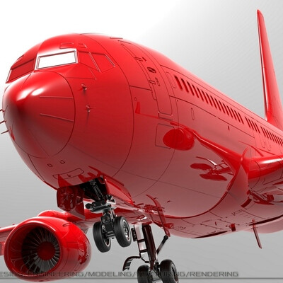 Модель самолёта B-787